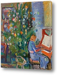 Картина Рождественская елка, Мальме, 1941
