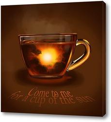Картина Заходи на чашку солнца