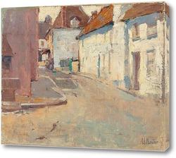 Постер Послеобеденные тени, на тихой улице, Франция