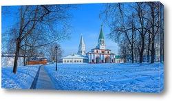 Постер Коломенское зимой.