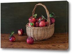 Постер Красные яблоки