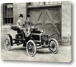 Постер Генри Форд тестирует Ford-N.1905г.