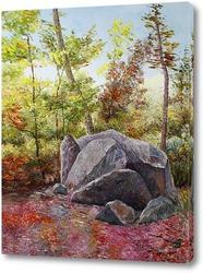 Картина Пейзаж с камнями