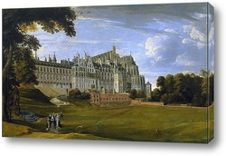 Картина Королевский дворец Куденберг близ Брюсселя