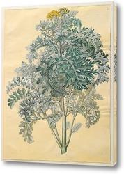 Картина Серые листья