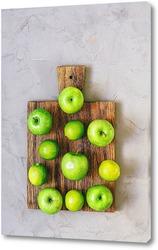 Постер Зеленые яблоки и лайм