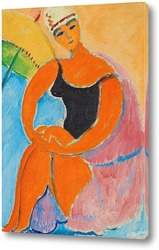 Картина Берта с желтым паралосом