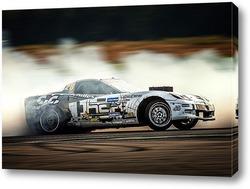 Постер Chevrolet Corvette