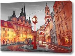 Постер Вечерняя Прага
