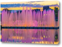 Постер Танцующий фонтан в Царицыно