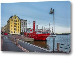 Постер Красный пароход