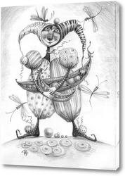 Постер Шут гороховый