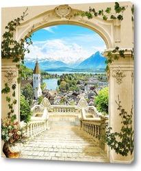 Постер Сказочный пейзаж