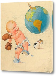 Картина Мировой бокс