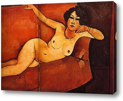 Картина Обнажённая женщина на диване