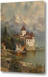 Картина Замок Шильон, Швейцария, 1897