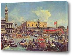 "Постер Венеция, ""Буччинторо"""
