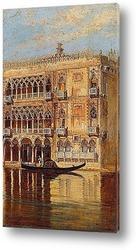 Венеция - вид на колокольню церкви Санта Мария деи Фрари