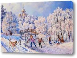 Картина Рождественские каникулы