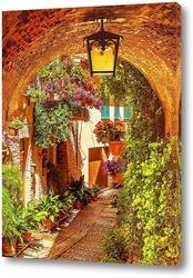 Картина Испанские улочки