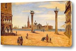 Картина Пьяцетта в Венеции