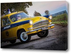 klassische amerikanische limousine aus den 60er jahren