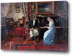 Картина Попова Александра Павловича