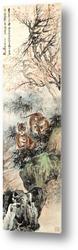 Картина Тигры в лесу