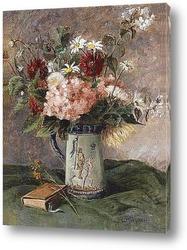 Цветы с подсвечником