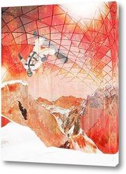 Картина Зимний прыжок