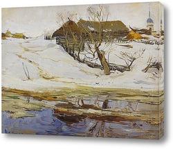Постер Зимняя сцена