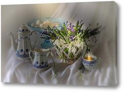Постер С первоцветами