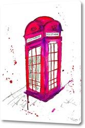 Картина Телефонный звонок  в Лондоне