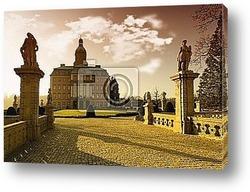 Постер Beautiful monuments near Wroclaw, poland