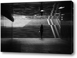 Woman image retro card, vector background set