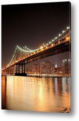Один из мостов Нью-Йорка
