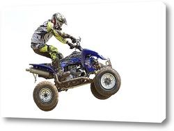 Постер Мотогонщик на квадроцикле