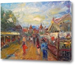 "Картина ""Таллин. У ворот старого города"""