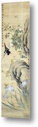 Восточный стиль живописи. Цветение сливы