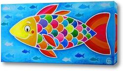 Картина Счастливая рыбка