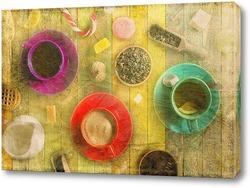 Картина Разноцветные кружки