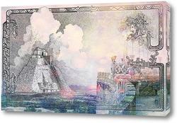 Картина Архитектура цивилизации Майя