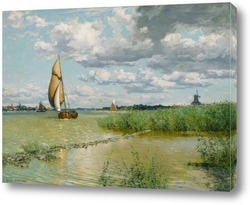 Картина На реке Маас