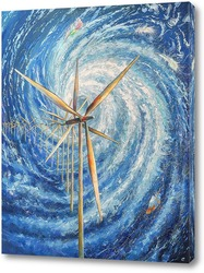 "Картина Картина: ""Энергия ветра"""