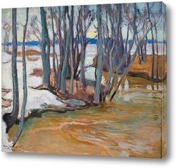 Картина Озеро Туусула