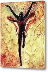 Постер Танцующая балерина