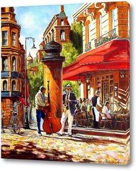 Картина Уличные музыканты