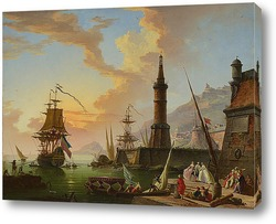 Картина Морской порт