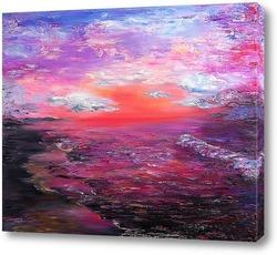 Картина Любовь, закаты и рассветы