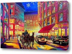 Постер Вена в канун Рождества